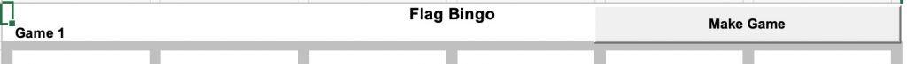 Flag Bingo Make Game button