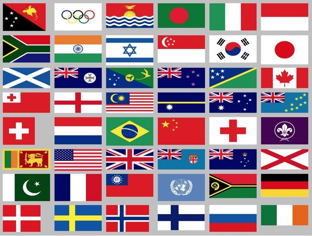 Flags study sheet