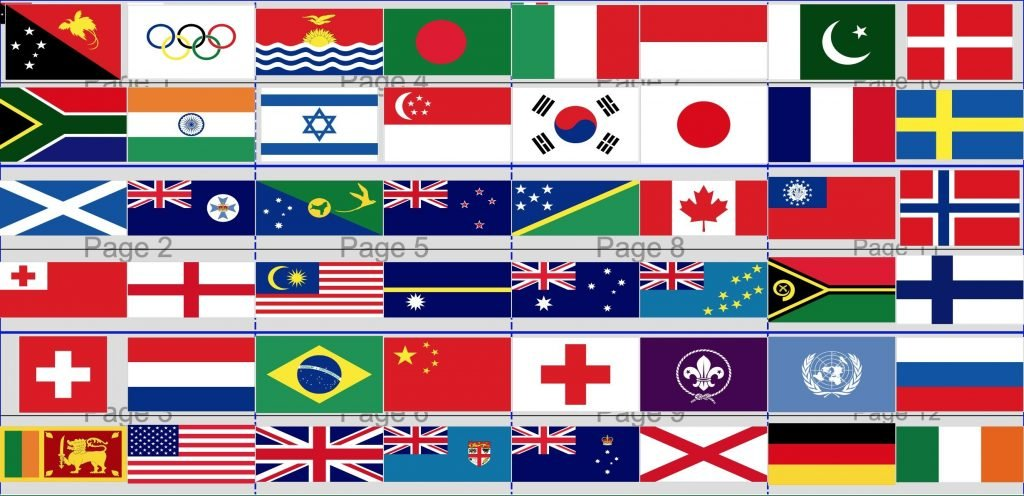 Flags game flags