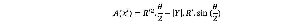 Cask area formula